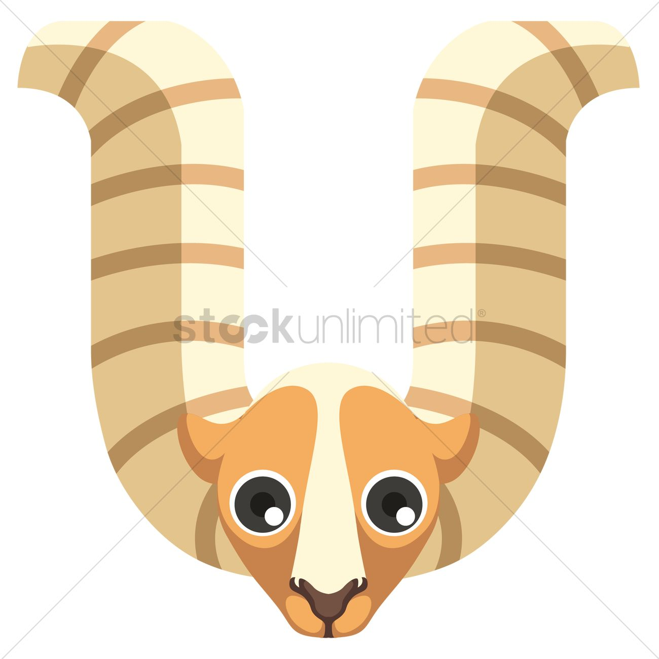 Letter u for urial Vector Image - 1236520 | StockUnlimited