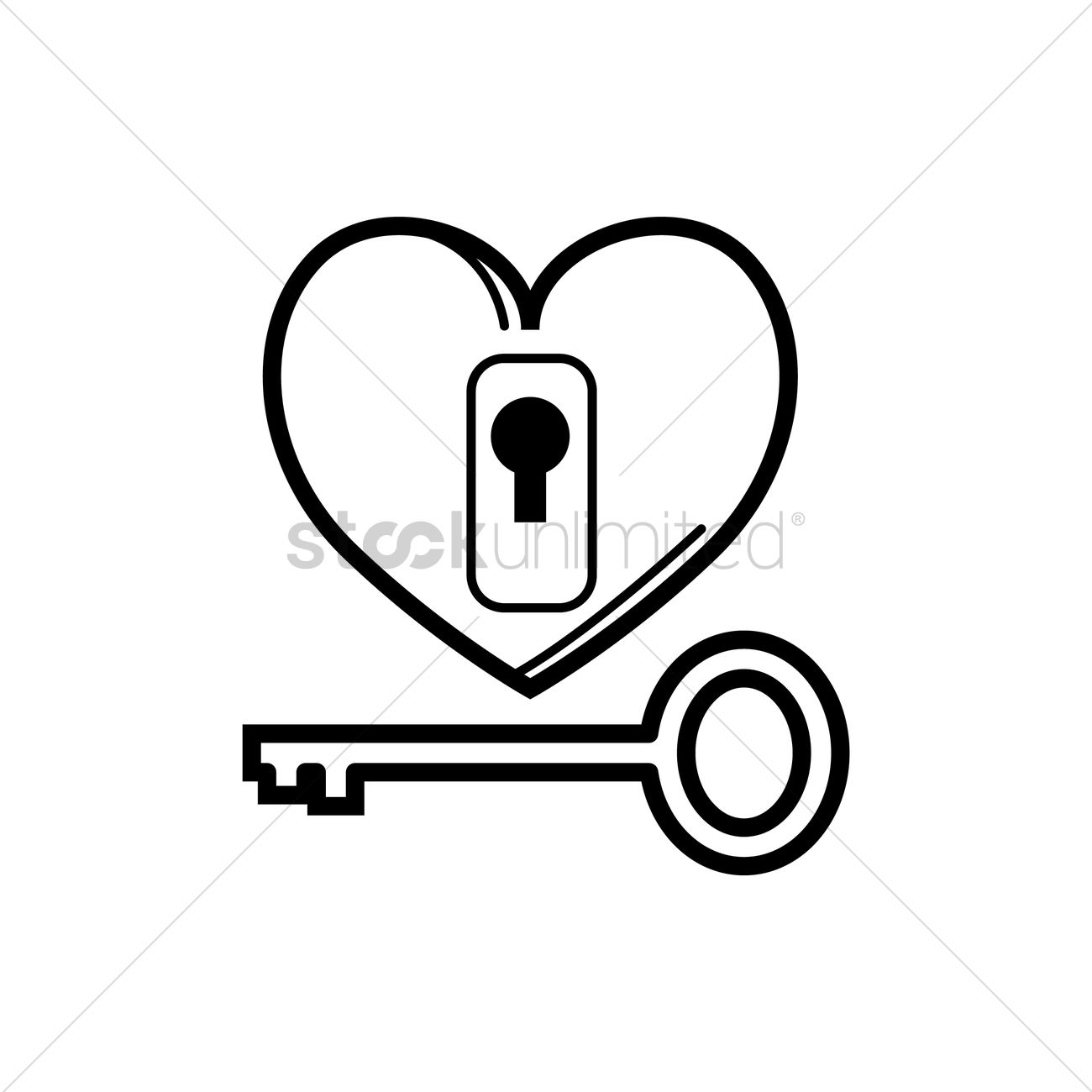 lock and key drawing. Fine And Love Lock And Key Vector Graphic Inside Lock And Key Drawing O