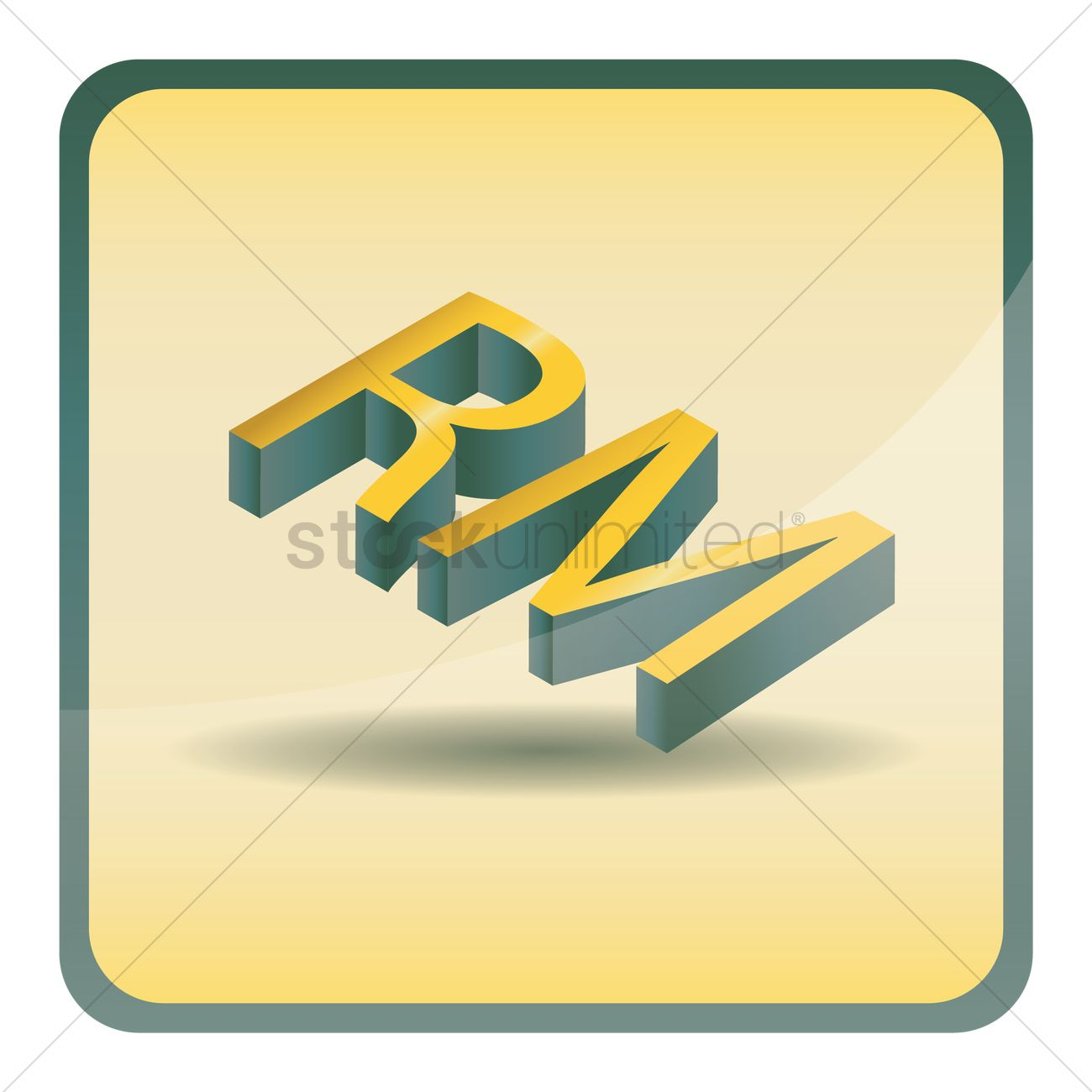 Malaysian Ringgit Currency Vector Image 1631124 Stockunlimited