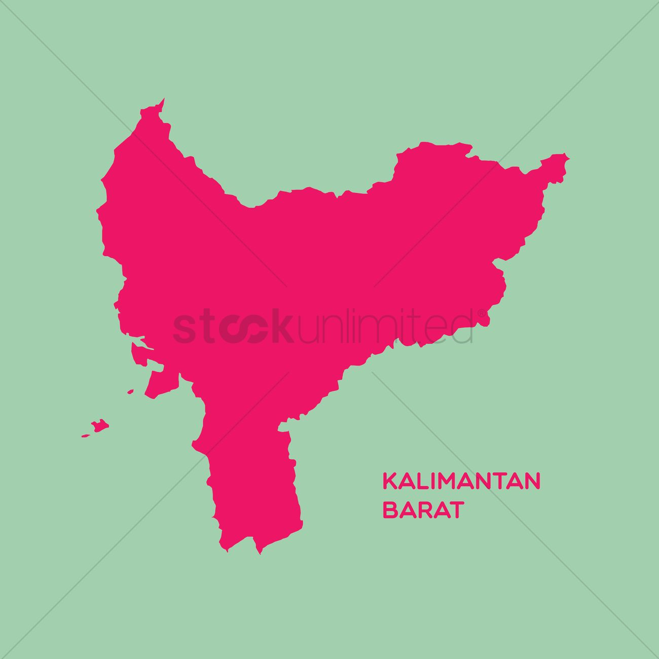 map of kalimantan barat vector image 1480436 stockunlimited map of kalimantan barat vector image