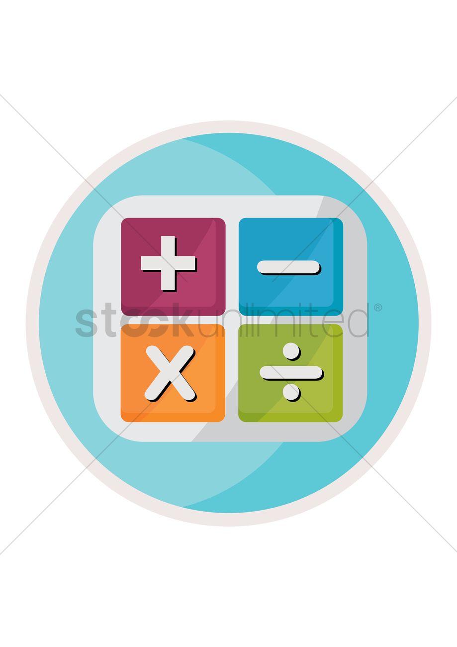 Mathematical Symbols Vector Image 1315428 Stockunlimited
