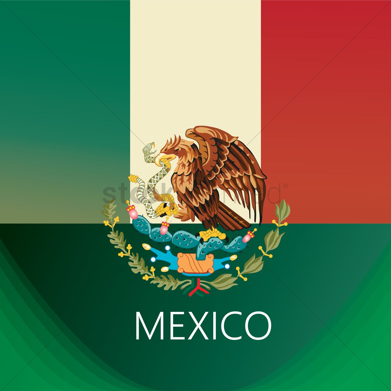 mexico flag background_1582280