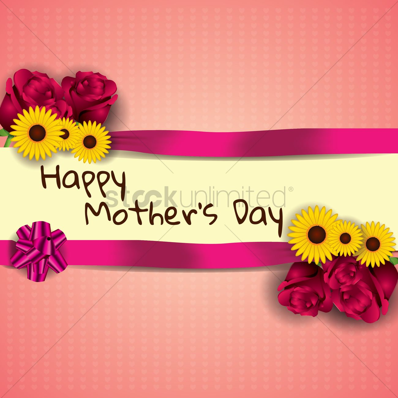 Mothers Day Greeting Design Vector Image 1994020 Stockunlimited