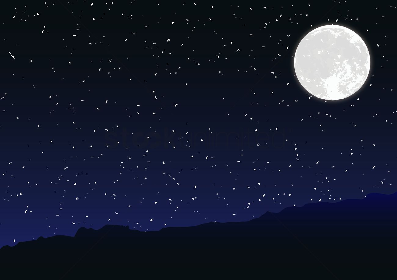night sky vector image 1419808 stockunlimited rh stockunlimited com night sky vector wallpaper night sky vector free