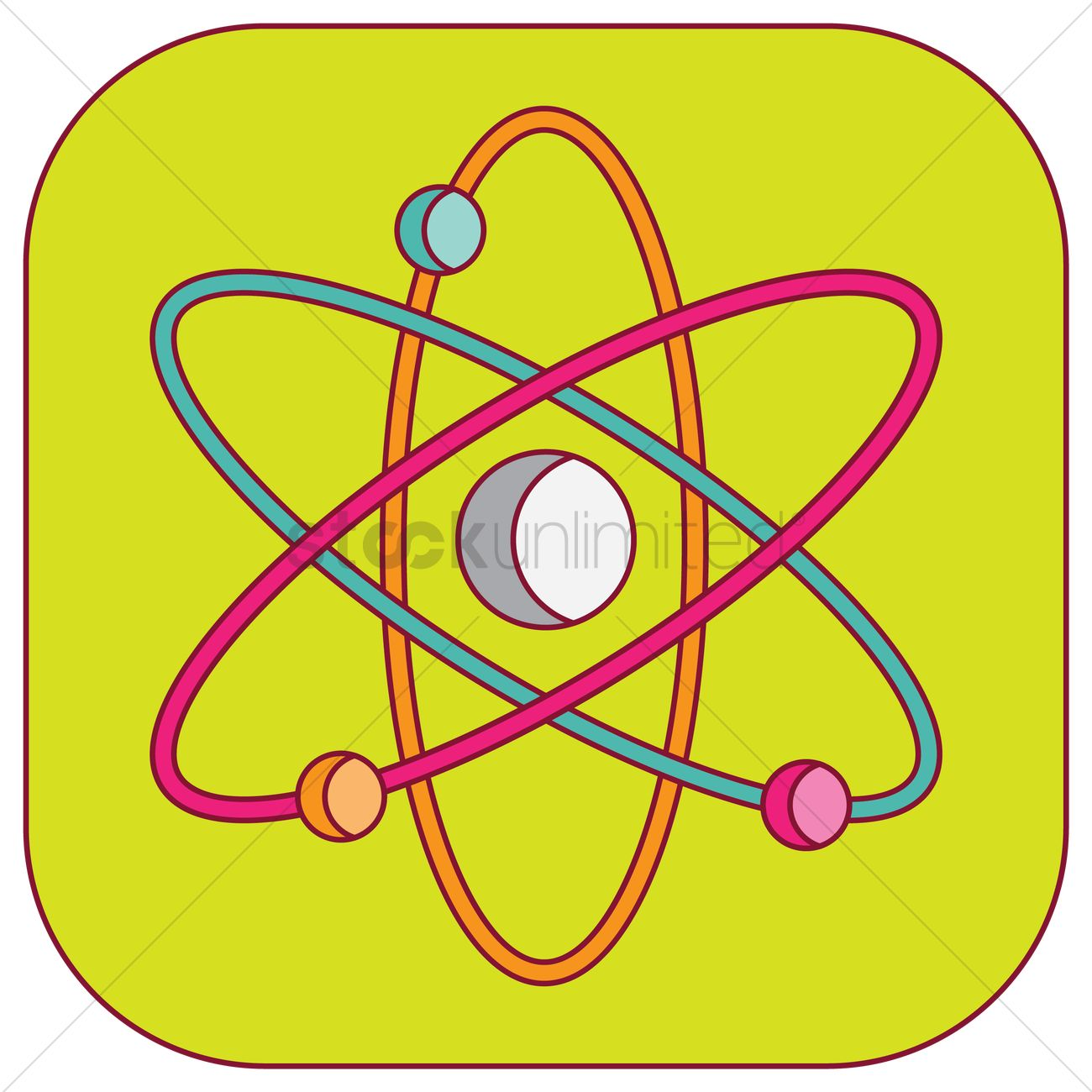 Free Nuclear And Atomic Power Symbol Vector Image 1247520