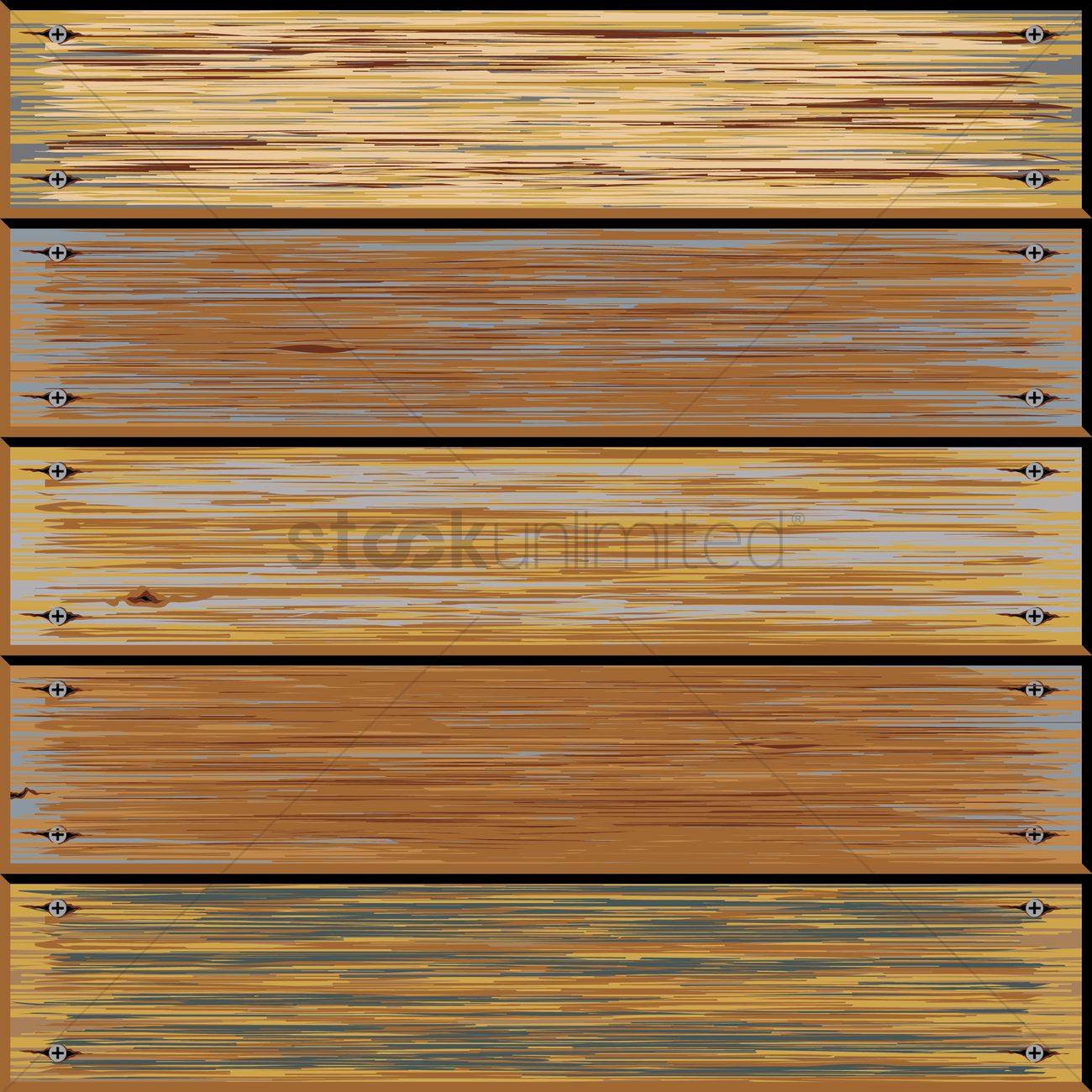 Old wooden texture background Vector Image - 1515568