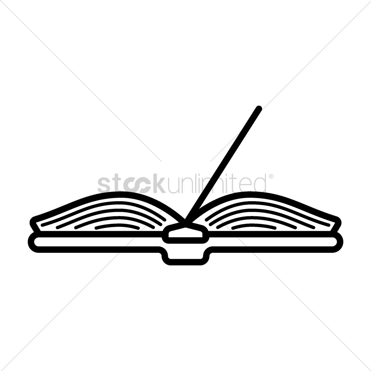 open book vector image 1578000 stockunlimited