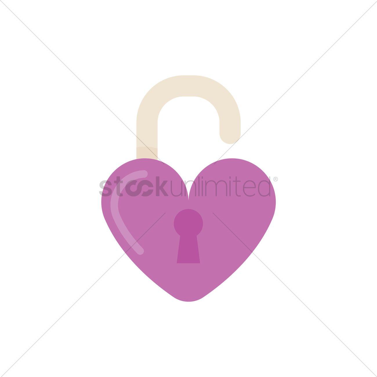 Free open heart lock shape vector image 1264132 stockunlimited free open heart lock shape vector graphic buycottarizona Gallery