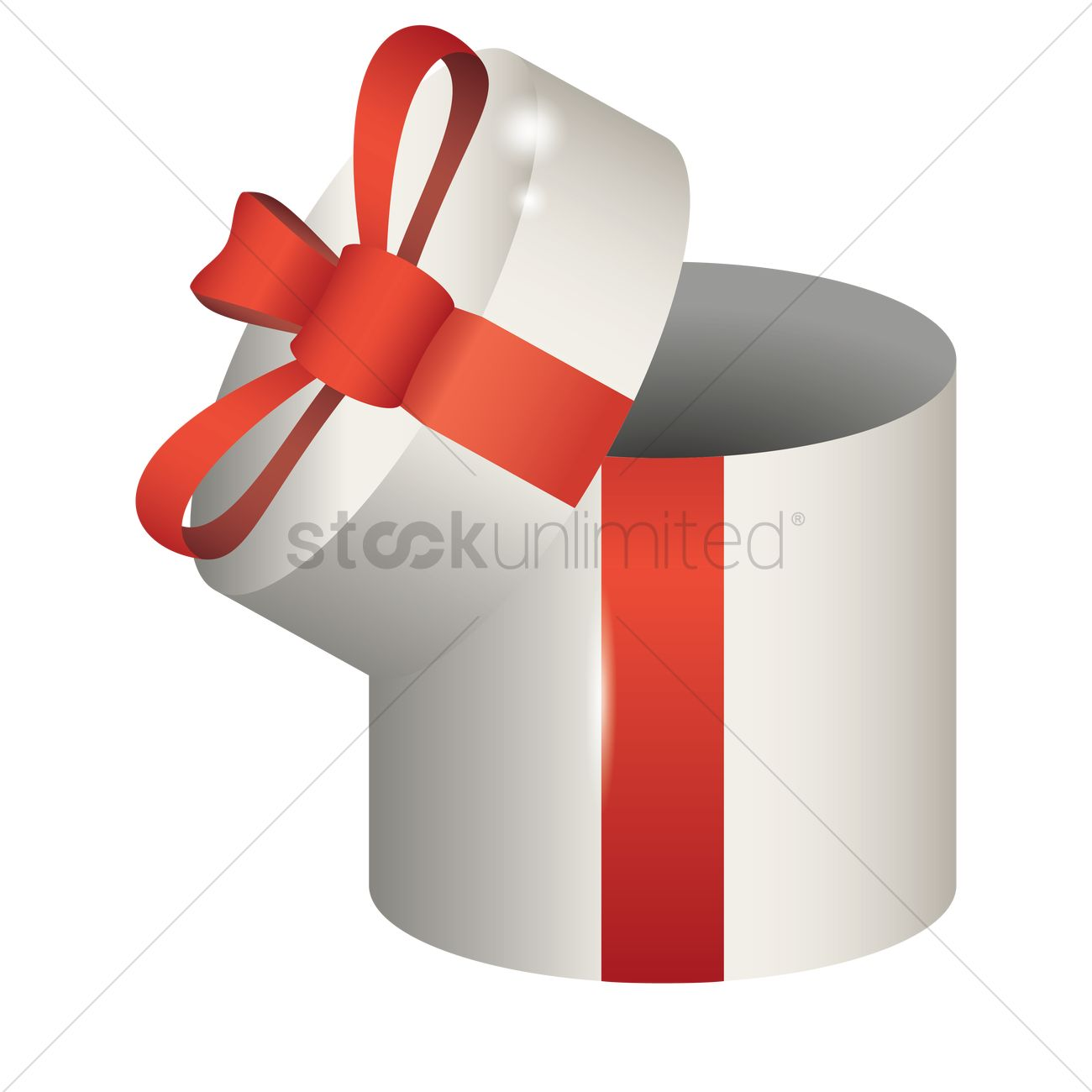 633663a8c65c8 Opened gift box Vector Image - 1935432