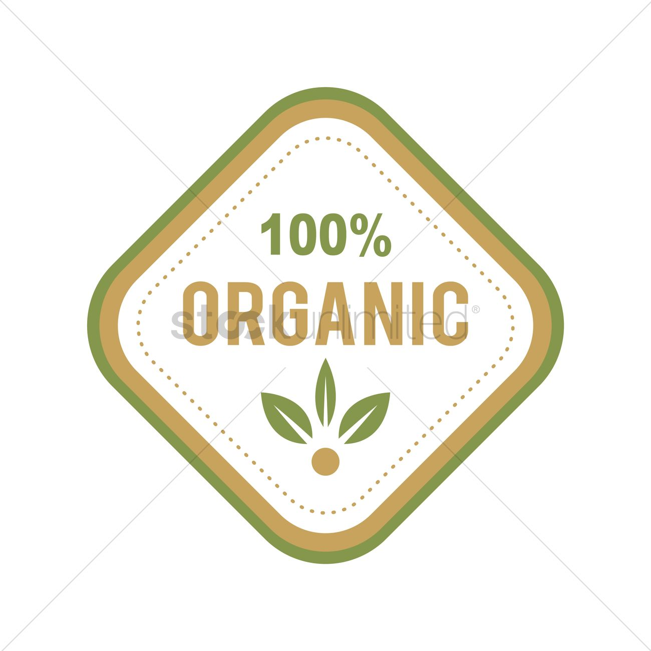Organic food label design Vector Image - 2029876 | StockUnlimited