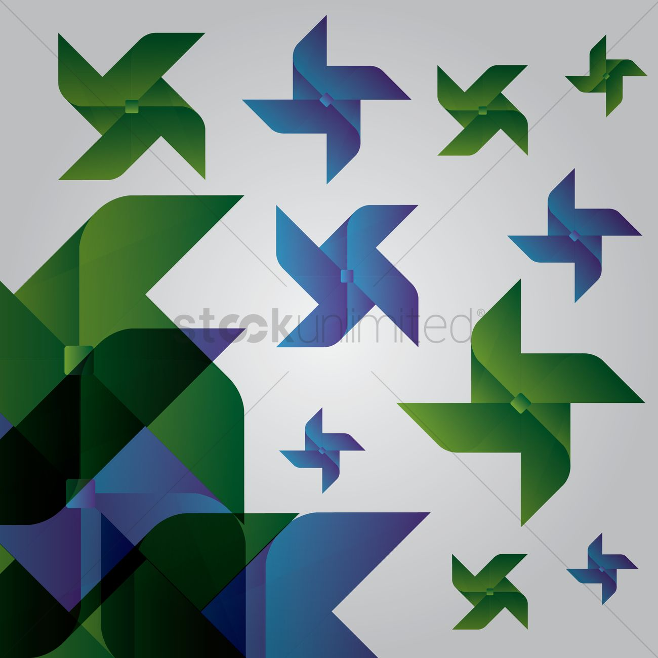 Free Origami Fan Pattern Vector Image 1240380 Stockunlimited