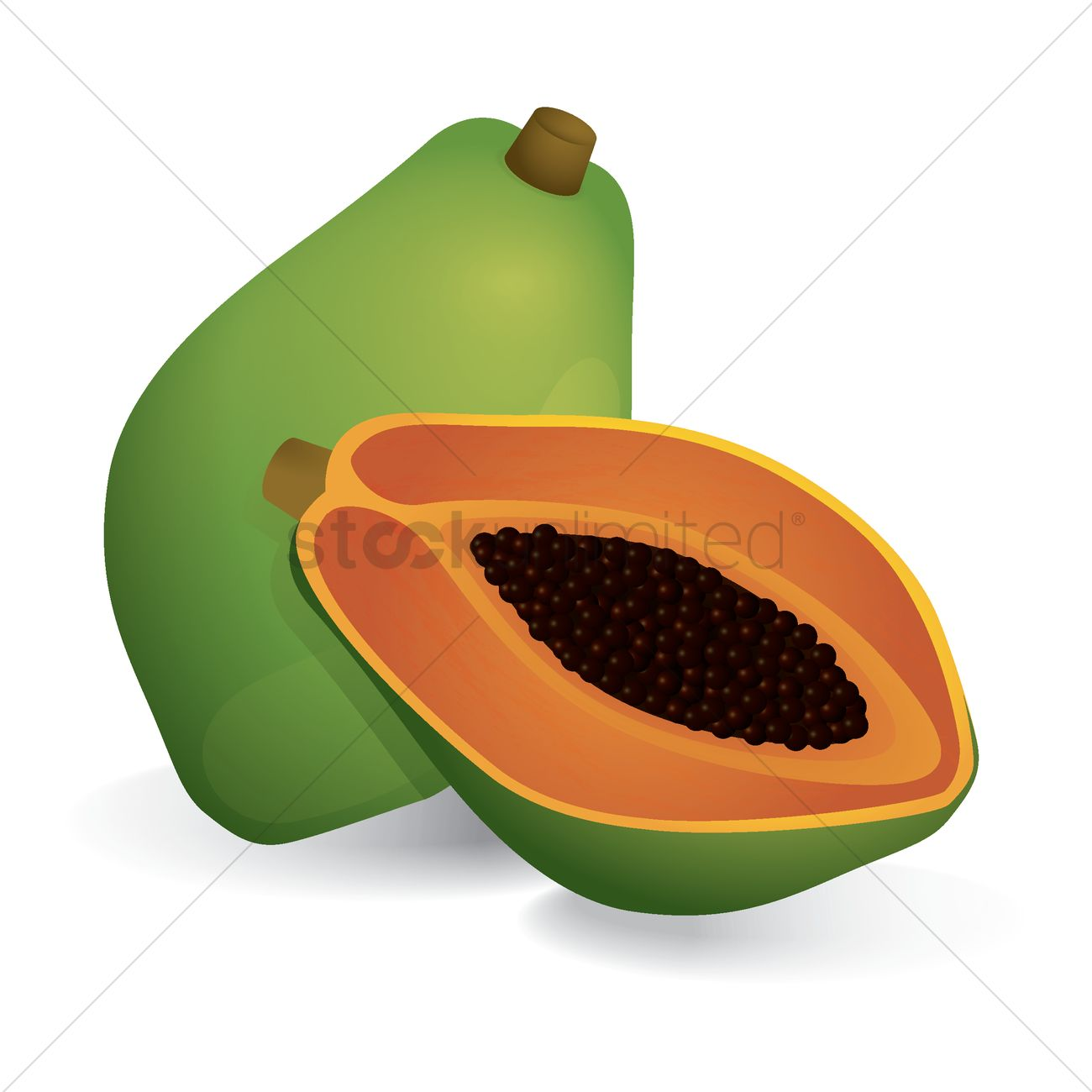 Papaya Png Picture