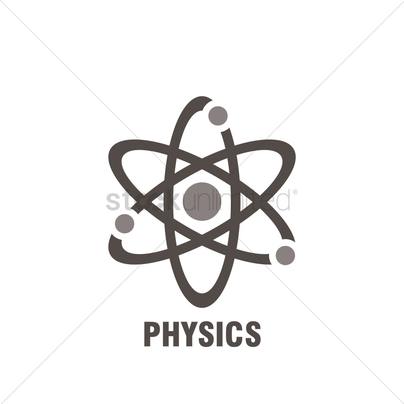Physics Subject Icon Vector Image 1986748 Stockunlimited
