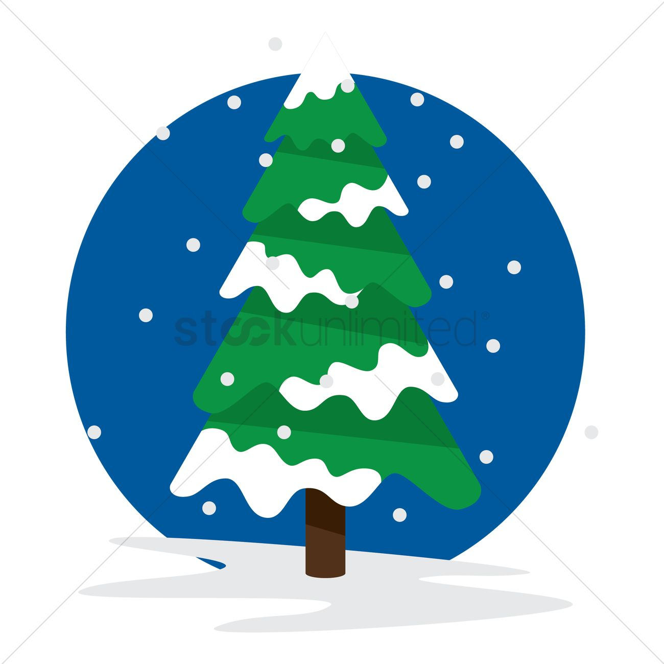 pine tree during winter vector image 1344976 stockunlimited rh stockunlimited com winter vector winter vectors free download