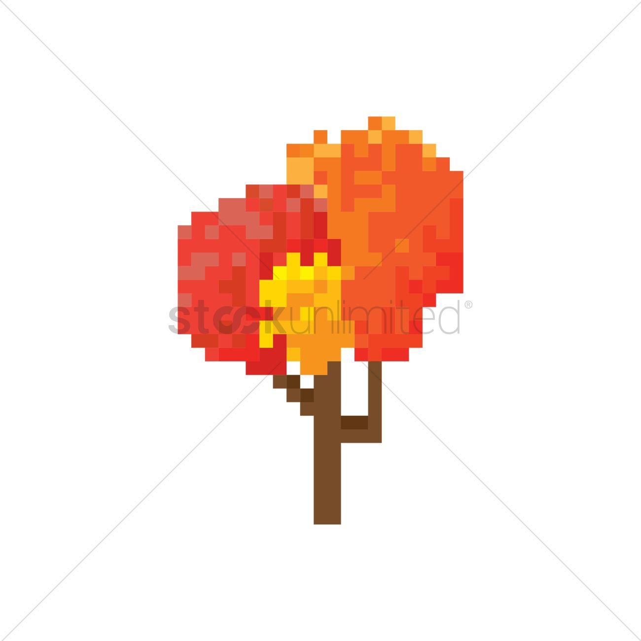 Autumn Leaf Pixel Art Wiring Diagrams 20022004 Ford F250 Curt T Connector Harness 55265 Pixels Pixelate Pixelated 8 Bit 8bit Tree Trees Rh Stockunlimited Com The