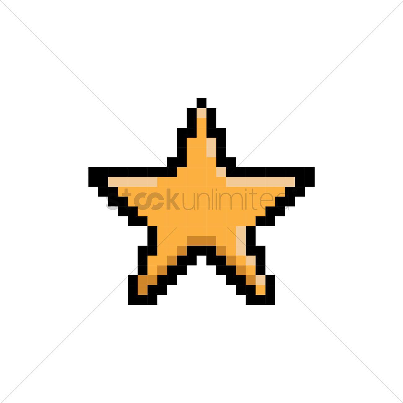 Destiny star yellow sprite by Banjo2015 on DeviantArt  |Pixel Star