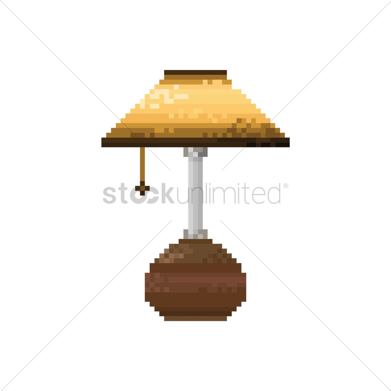 Pixel art table lamp vector image 1958432 stockunlimited pixel art table lamp vector graphic aloadofball Choice Image