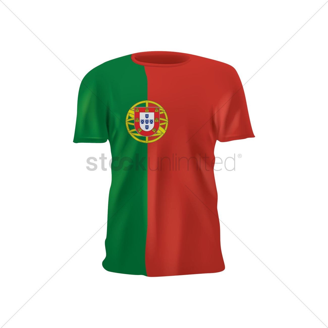 50837e42949 Portugal soccer jersey Vector Image - 1818908 | StockUnlimited