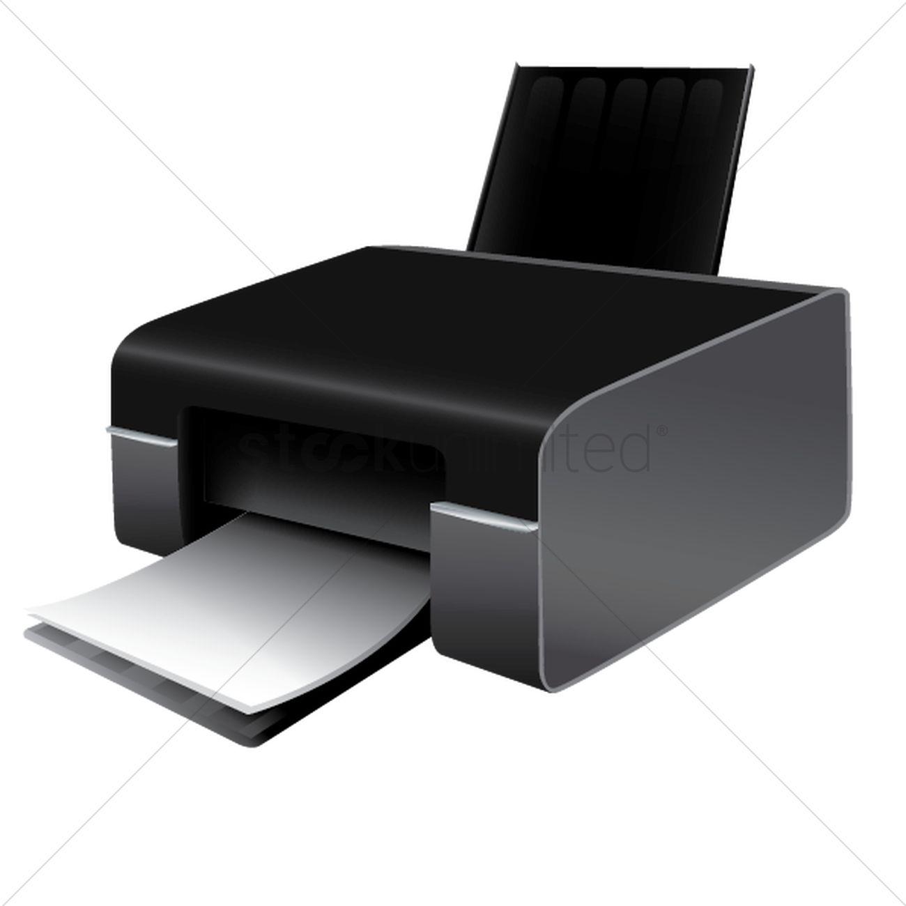 printer vector image 1516232 stockunlimited printer vector image 1516232