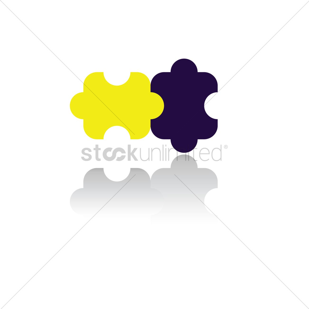 Puzzle pieces Vector Image - 1514972 | StockUnlimited