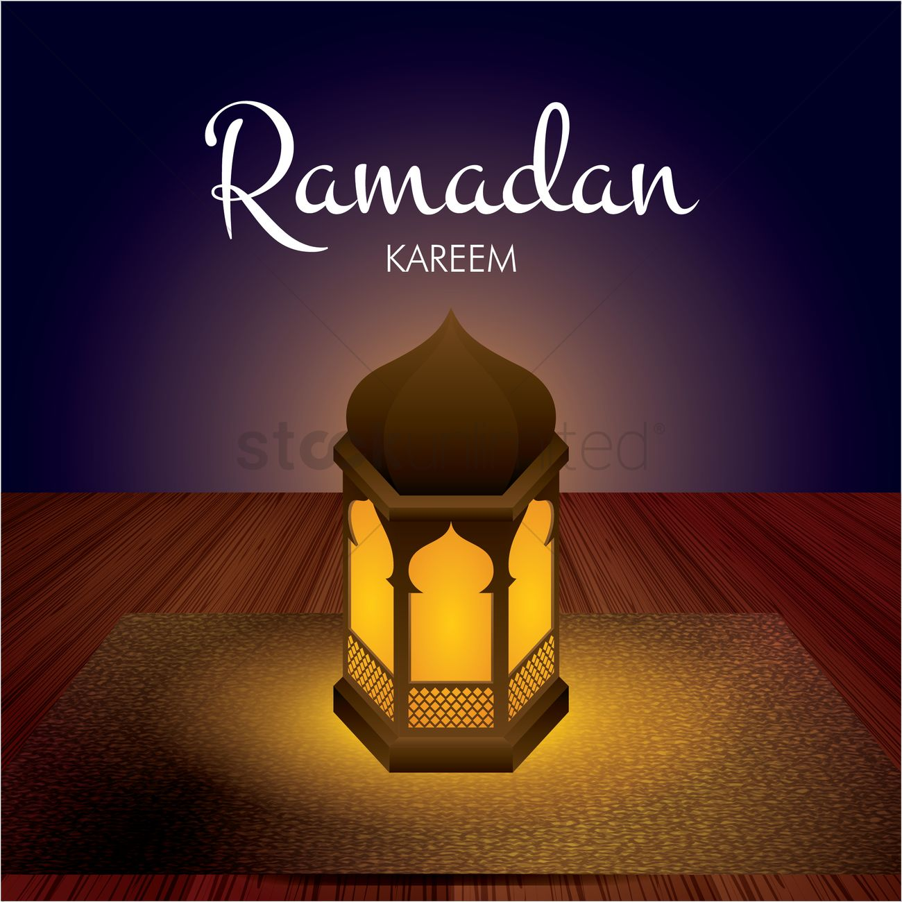 Ramadan Kareem Greeting Vector Image 1826944 Stockunlimited