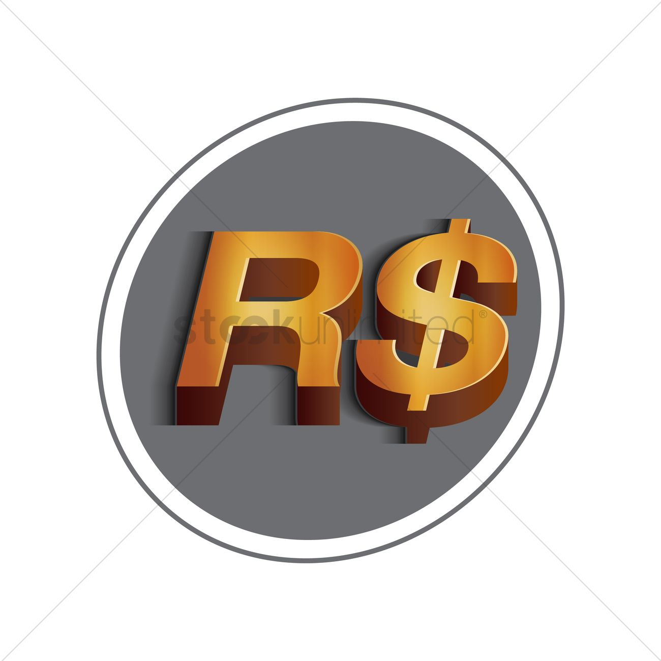 Free Brazil Currency Symbol Stock Vectors Stockunlimited
