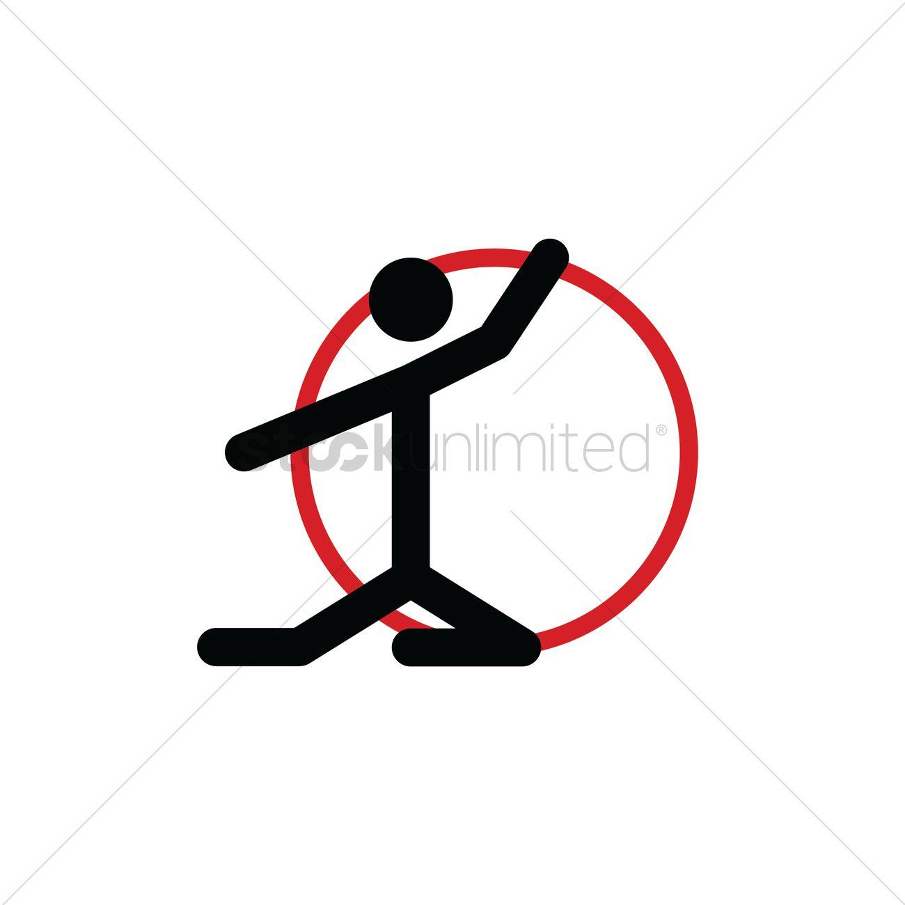 Rhythmic Gymnastics Hoop Vector Image 2026268 Stockunlimited