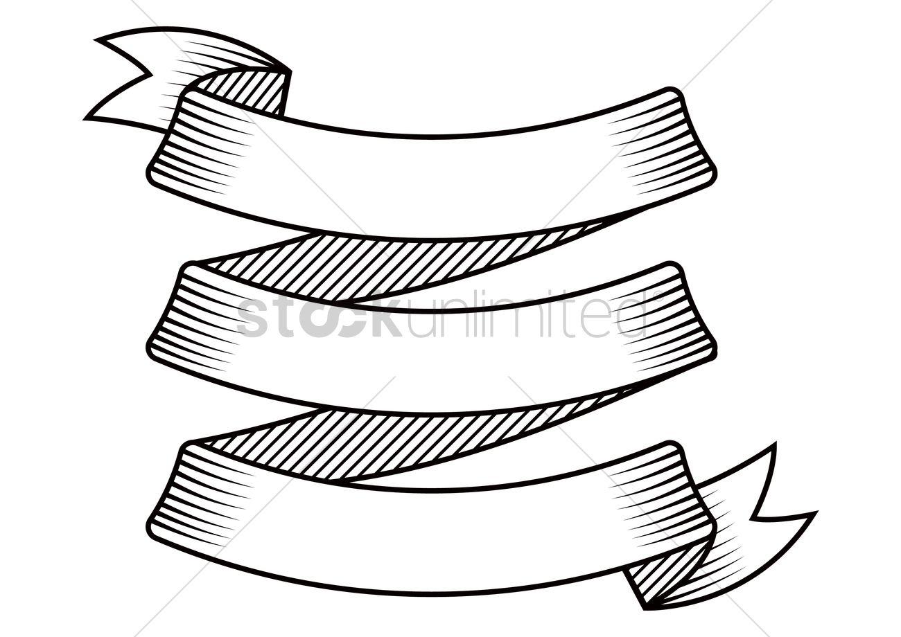 Ribbon banner Vector Image - 2100440 | StockUnlimited