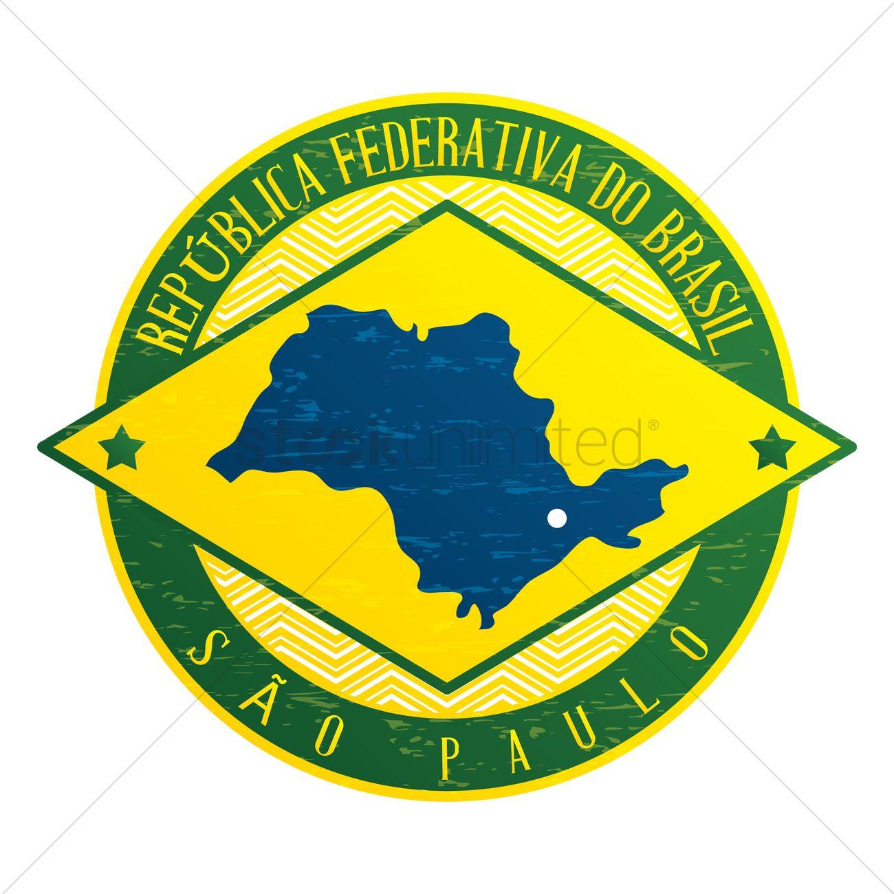 Sao Paulo State Map.Sao Paulo State Map Vector Image 1581032 Stockunlimited