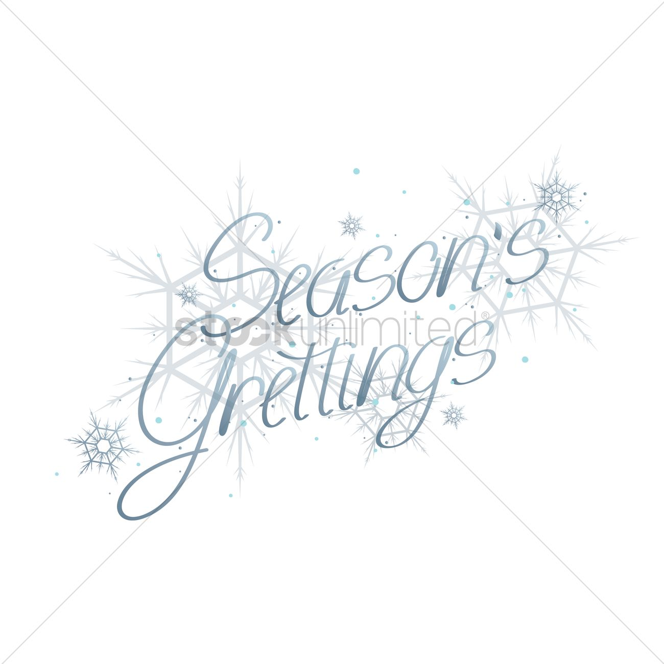 Seasons Greetings Vector Image 1603640 Stockunlimited