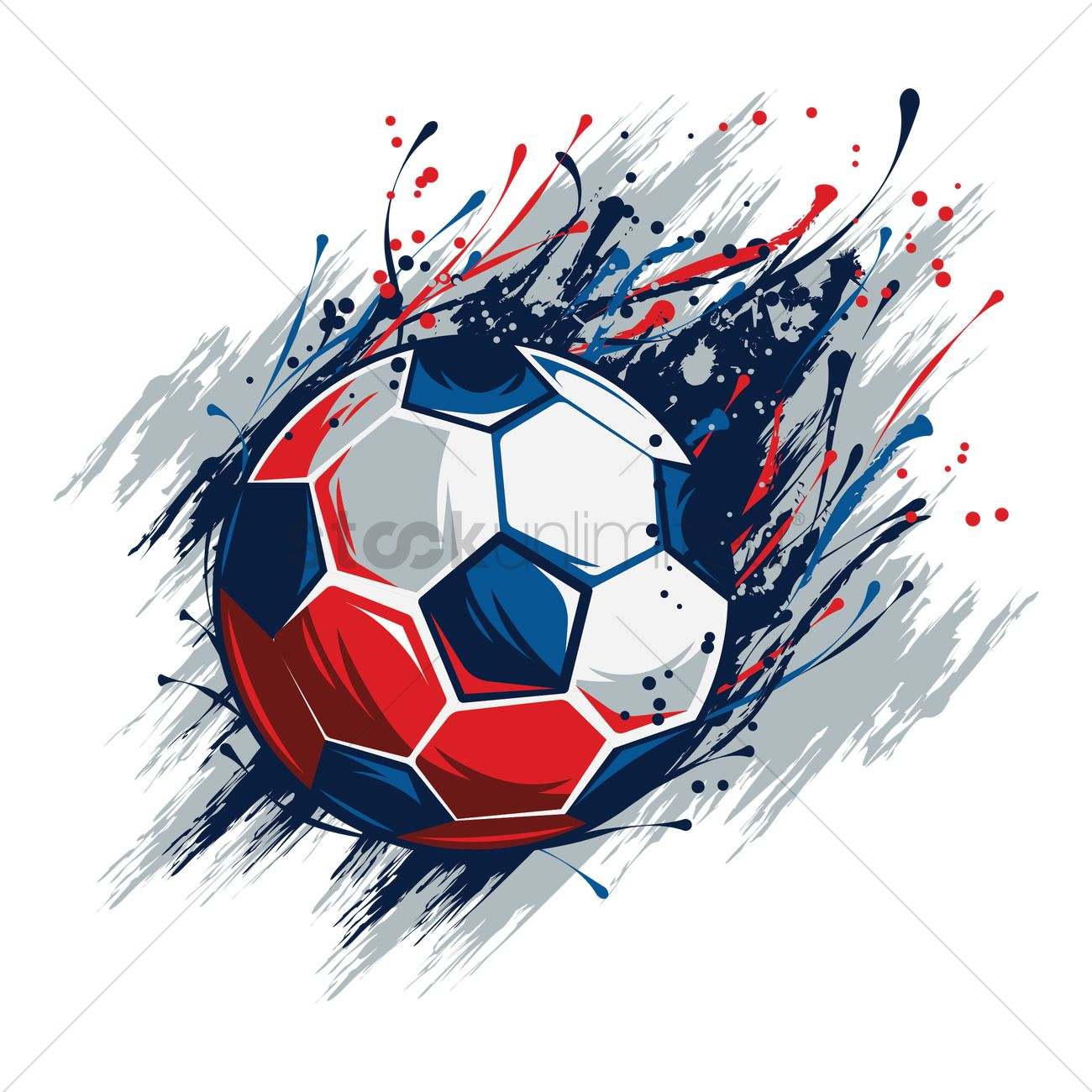 soccer ball design vector image 1818068 stockunlimited