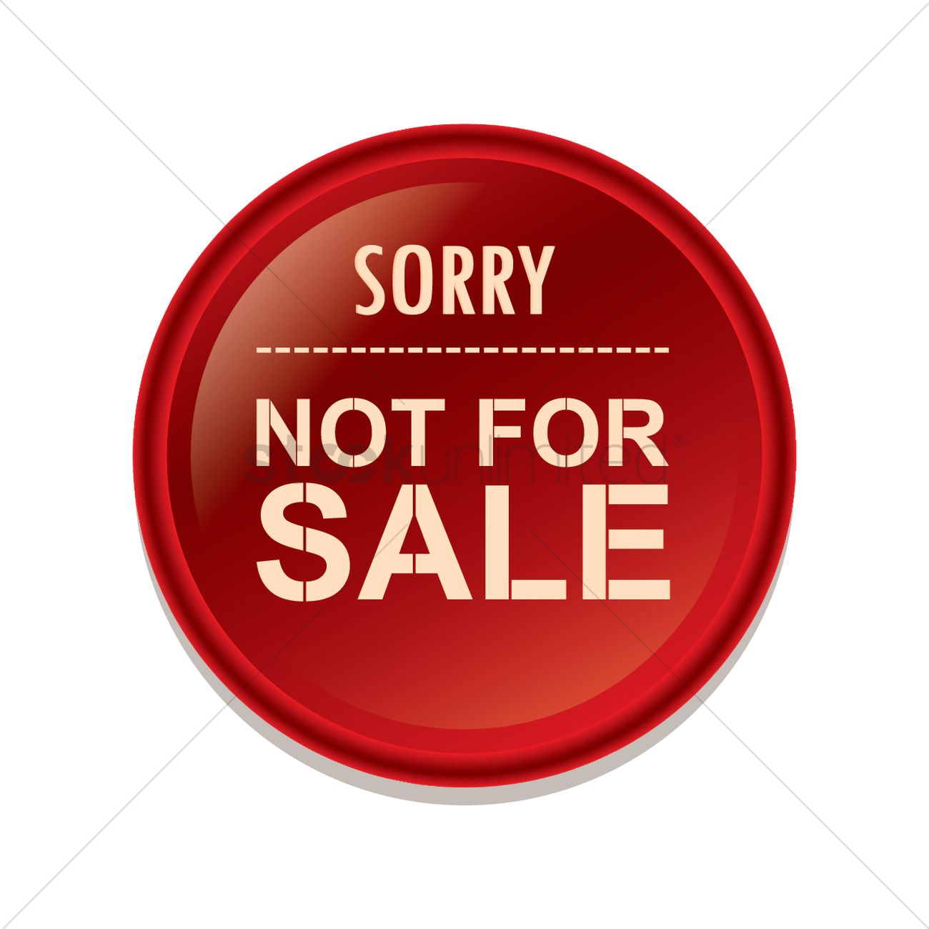 Not For Sale >> Sorry Not For Sale Label Vector Image 1490952 Stockunlimited