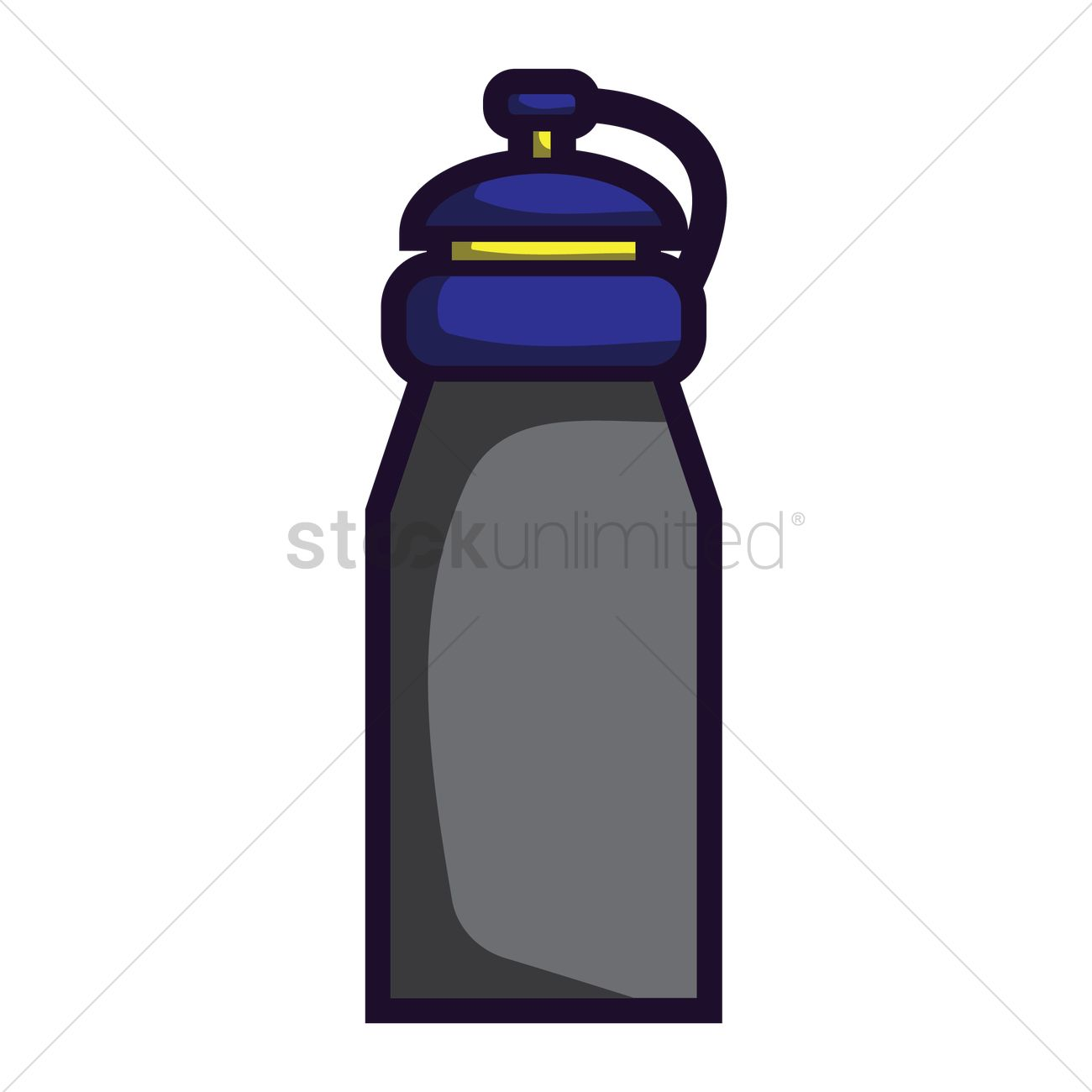 Water Bottle Vector: Sport Water Bottle Vector Image - 1870548