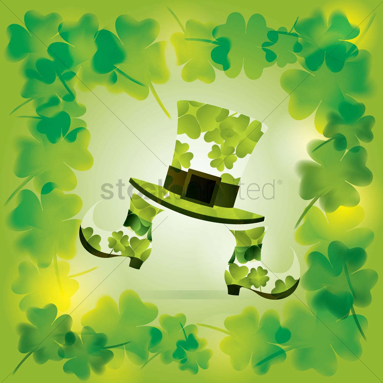 St Patrick S Day Wallpaper Vector Image 1481956
