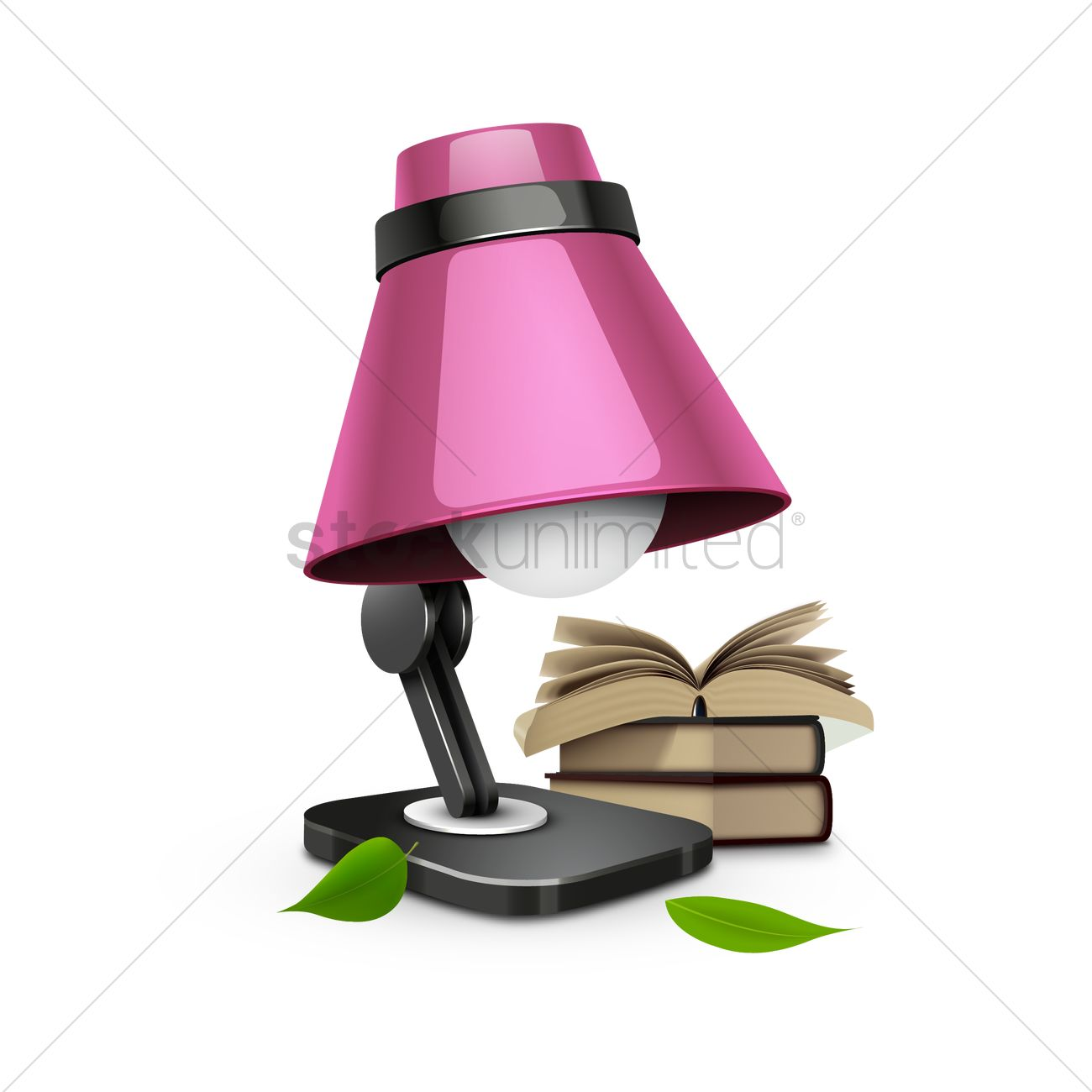 Study lamp Vector Image - 1517784 | StockUnlimited for Study Lamp Clipart  146hul