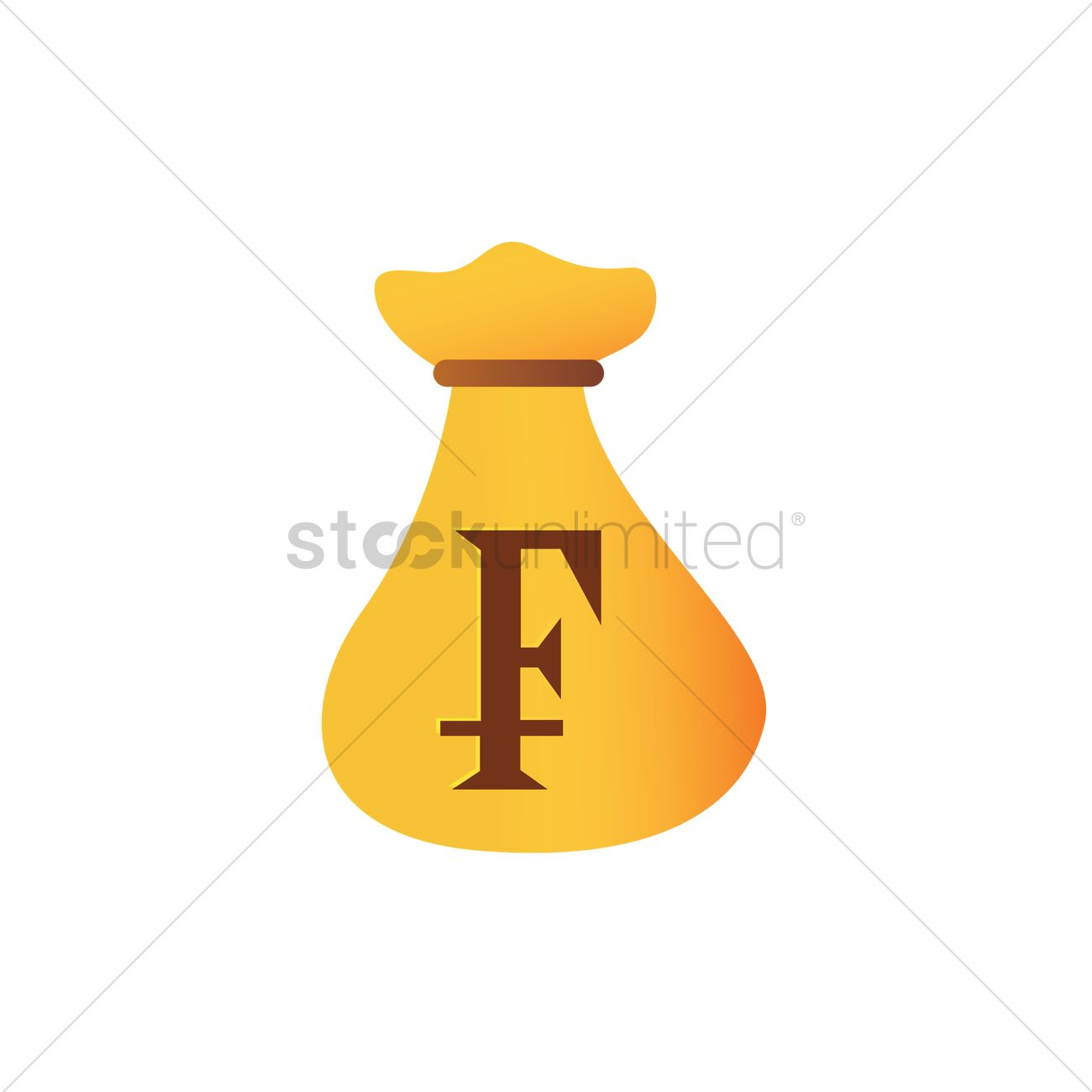 Swiss franc money bag vector image 2033992 stockunlimited swiss franc money bag vector graphic buycottarizona Images