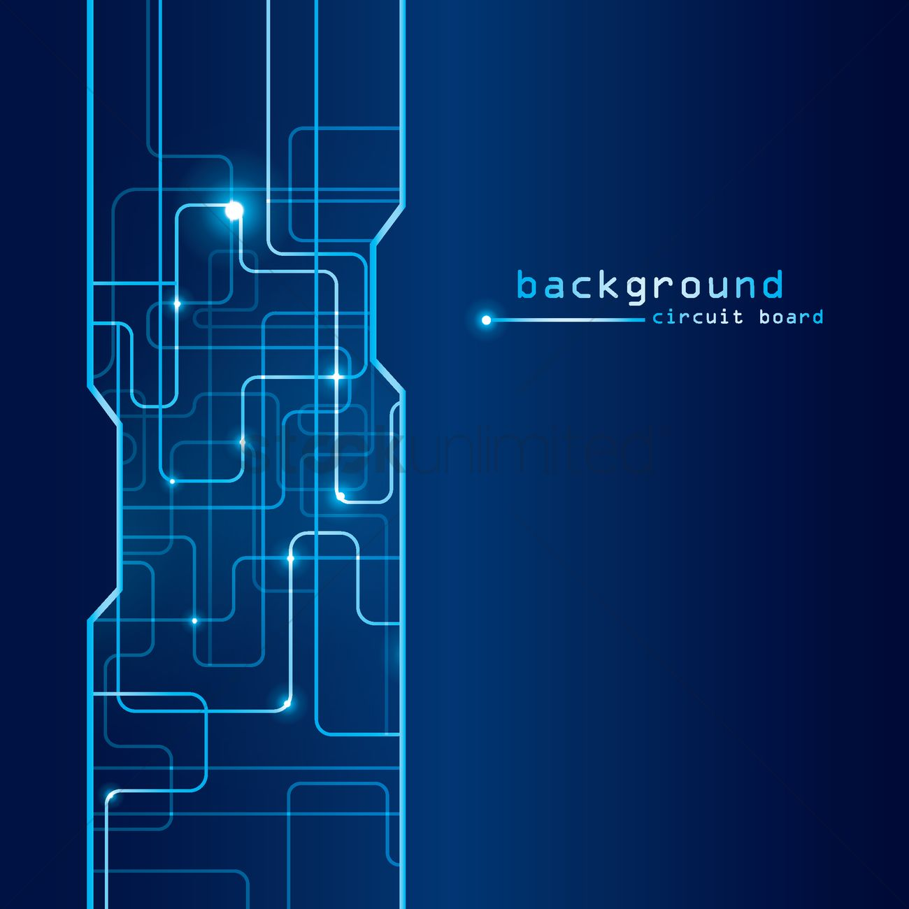Technical circuit board background Vector Image - 1789164 ...