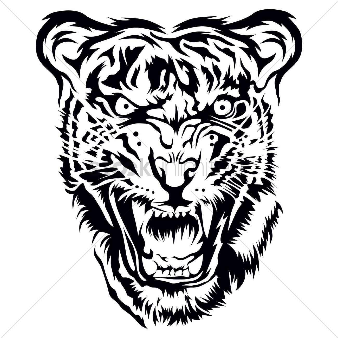 Tiger Head Tattoo Drawing | www.pixshark.com - Images ...