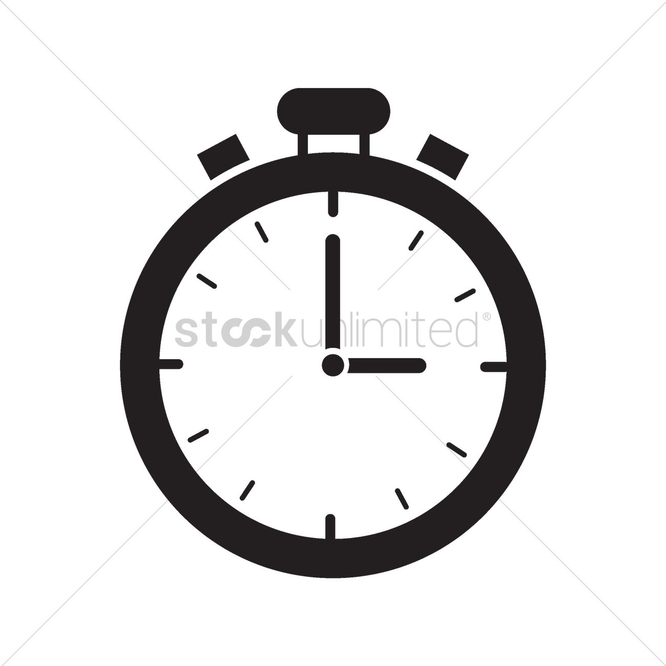 Timer icon Vector Image - 2004808 | StockUnlimited