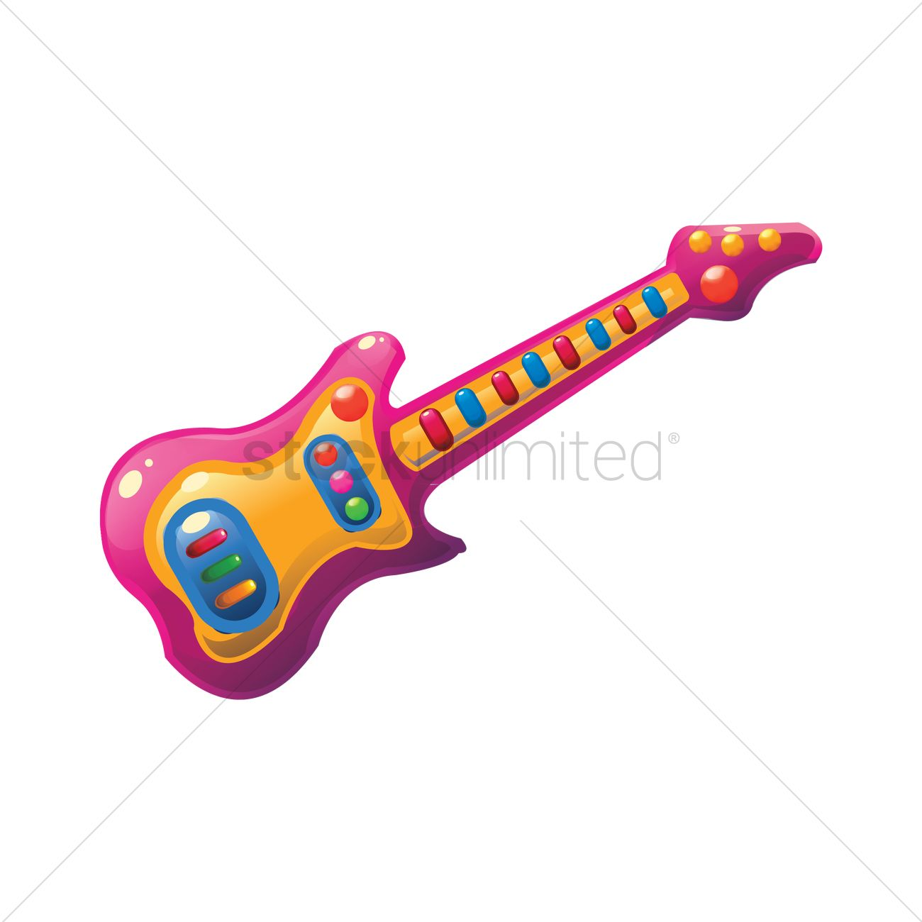 toy guitar vector image 1807100 stockunlimited rh stockunlimited com vector guitar chords free vector guitar chords free