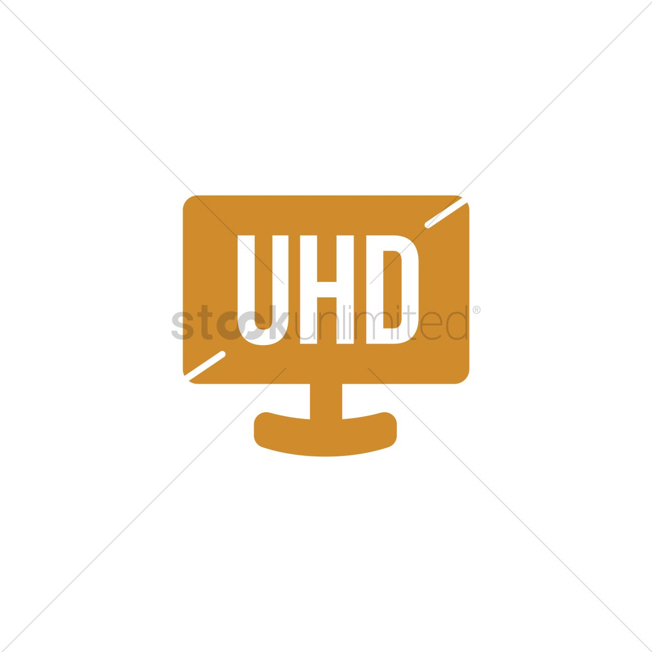 ultra high definition icon vector image - 2027536 | stockunlimited