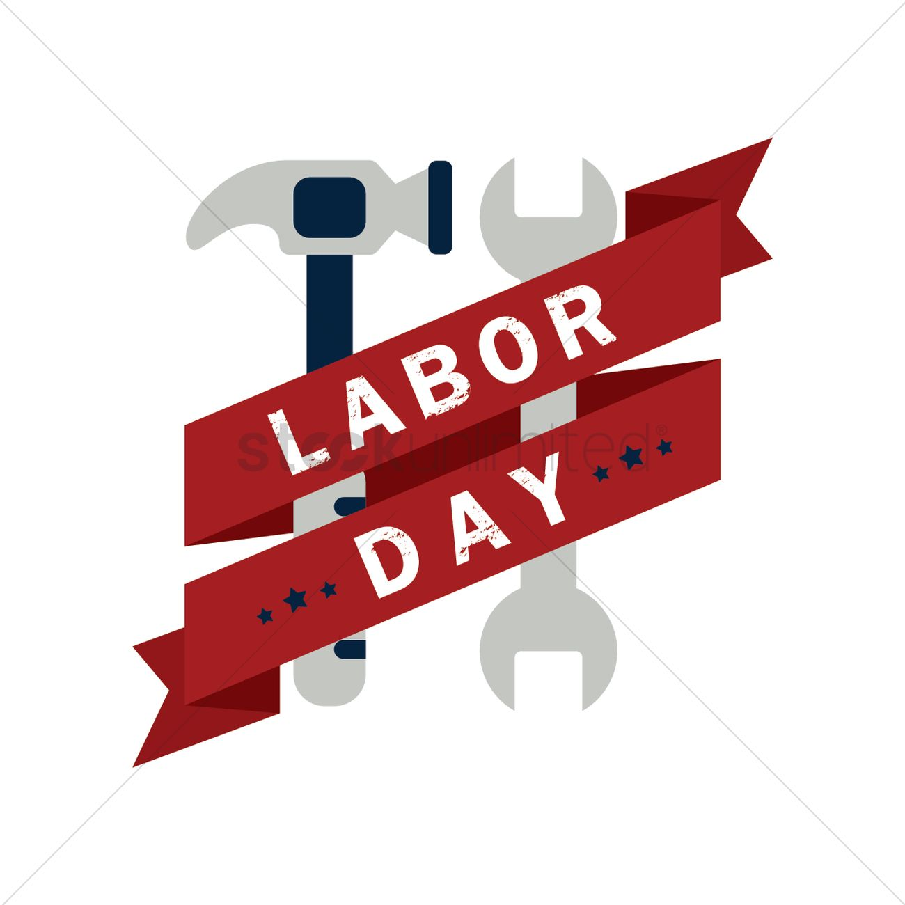 Us Labor Day Banner Vector Image 1557048 Stockunlimited