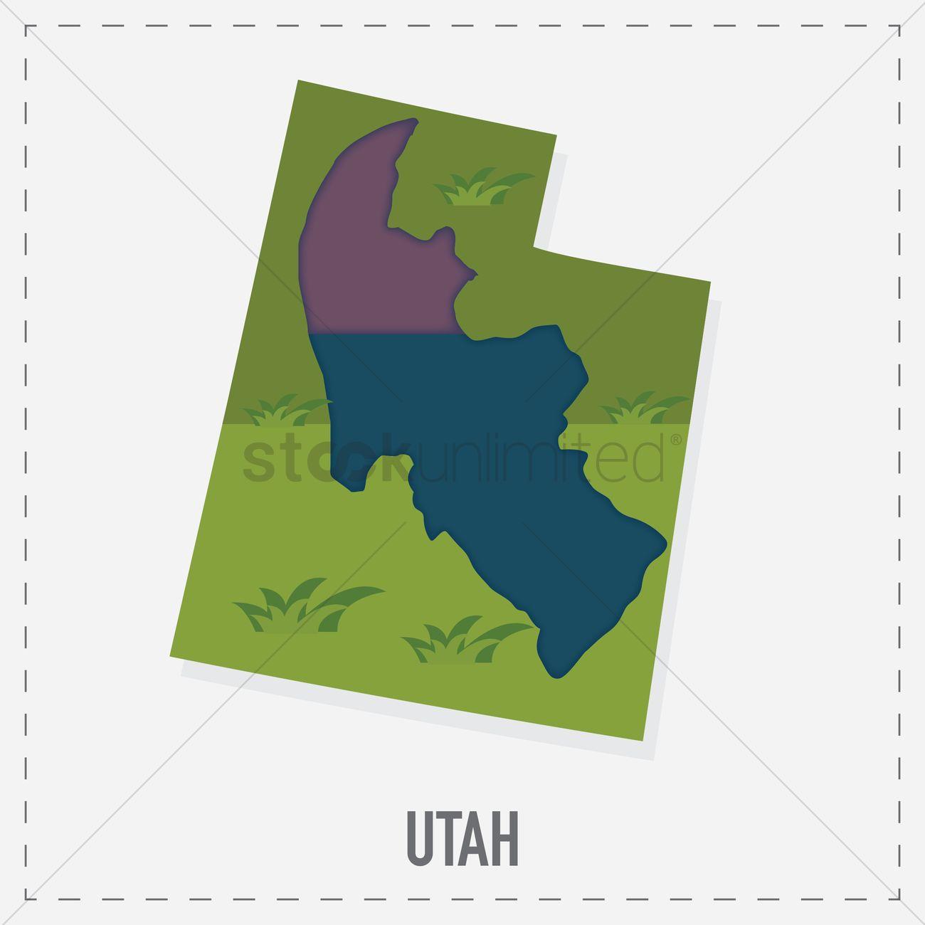 Utah map sticker vector image 1562448 stockunlimited utah map sticker vector graphic gumiabroncs Images