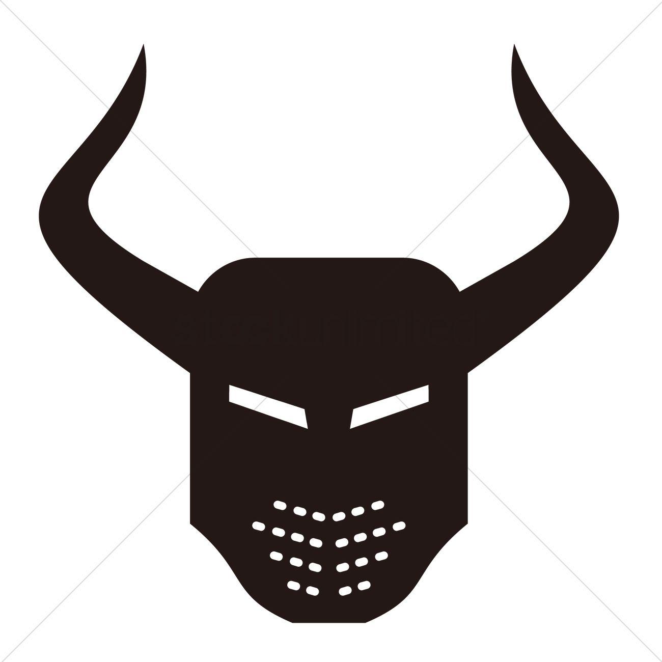 viking helmet vector image 1533352 stockunlimited