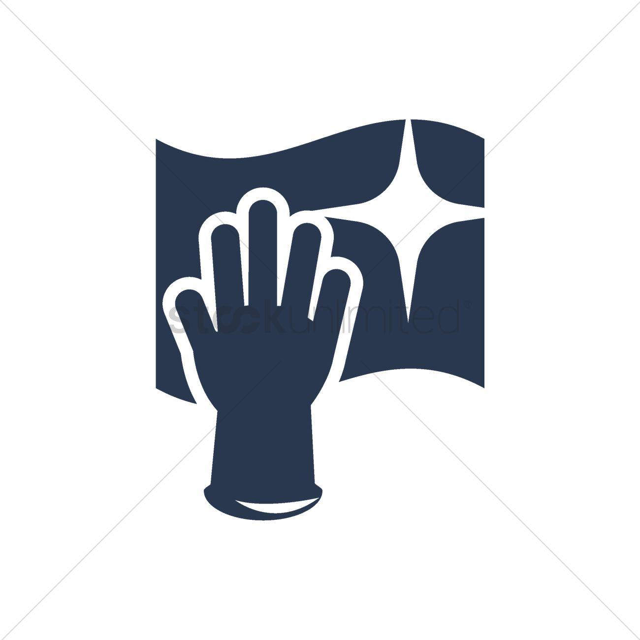 Washing glove and wash cloth vector image 2003964 stockunlimited washing glove and wash cloth vector graphic buycottarizona Image collections