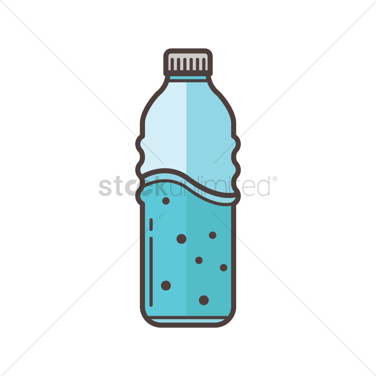 water bottle vector image 1863516 stockunlimited rh stockunlimited com