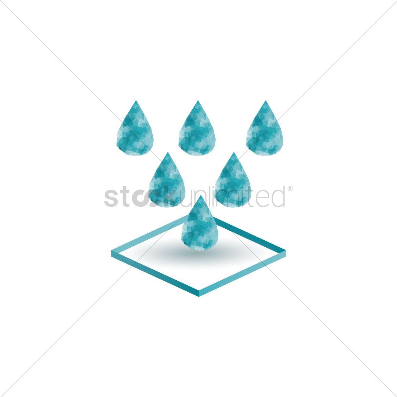 Water droplets vector image 1556704 stockunlimited water droplets vector graphic biocorpaavc