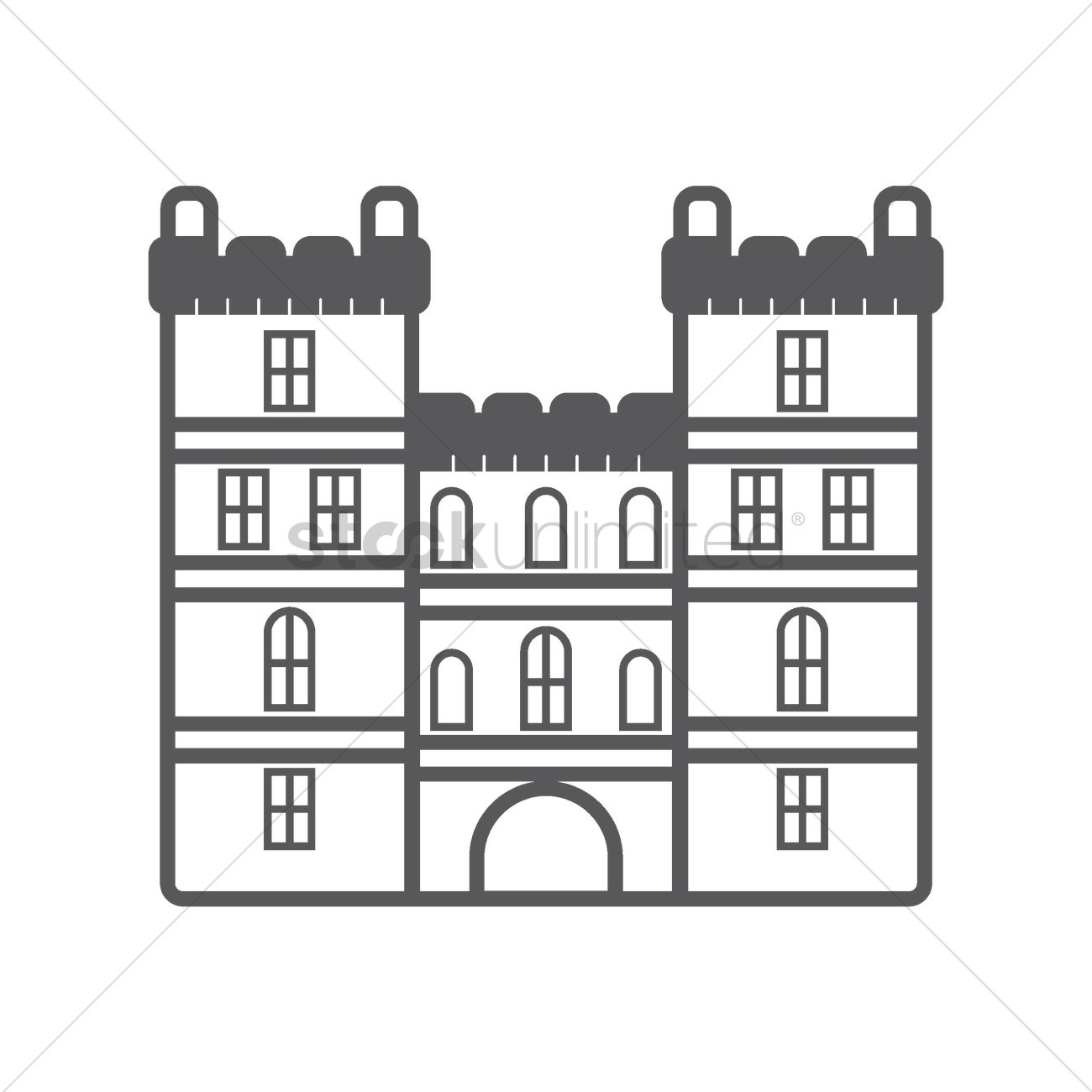 Windsor Castle Vector Image 1574600 Stockunlimited