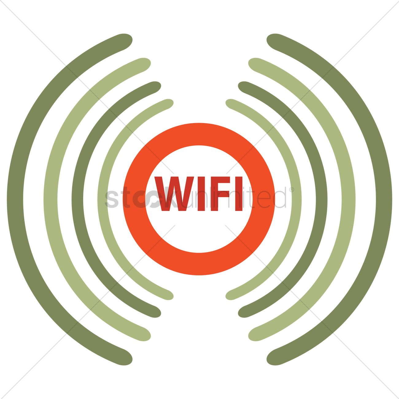 Wireless Network Symbol Vector Image 1270296 Stockunlimited