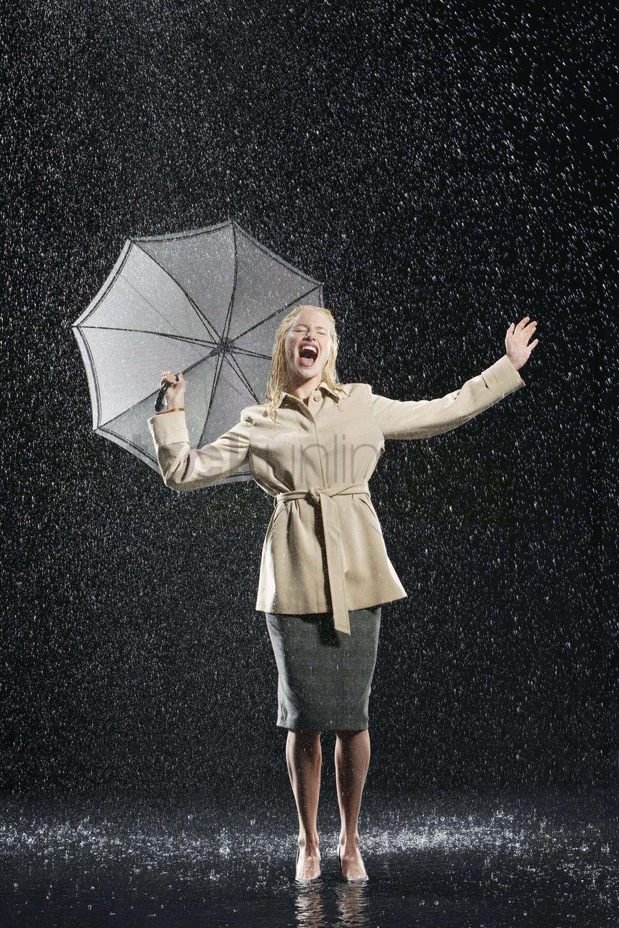 Free picture: women, standing, rain